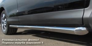 Lexus GX470 пороги труба  d42 (вариант 1) LGT-0003801